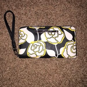 Betsey Johnson wristlet.